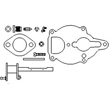 ZCK23 Basic Carburetor Kit For Ford New Holland 2N 9N