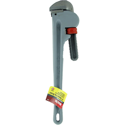 "Great Neck Saw APW18 18"" Heavy-Duty Aluminum Pipe Wrench"