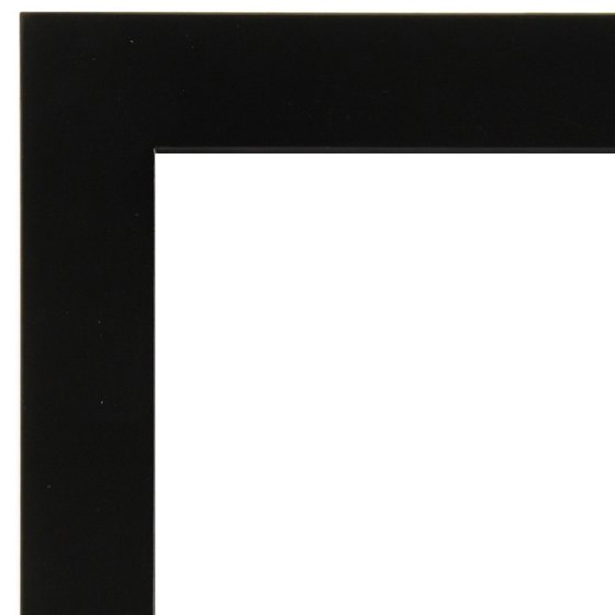 13x19 Wide Flat Black Frame With Mat For 11x17 Image - Walmart.com