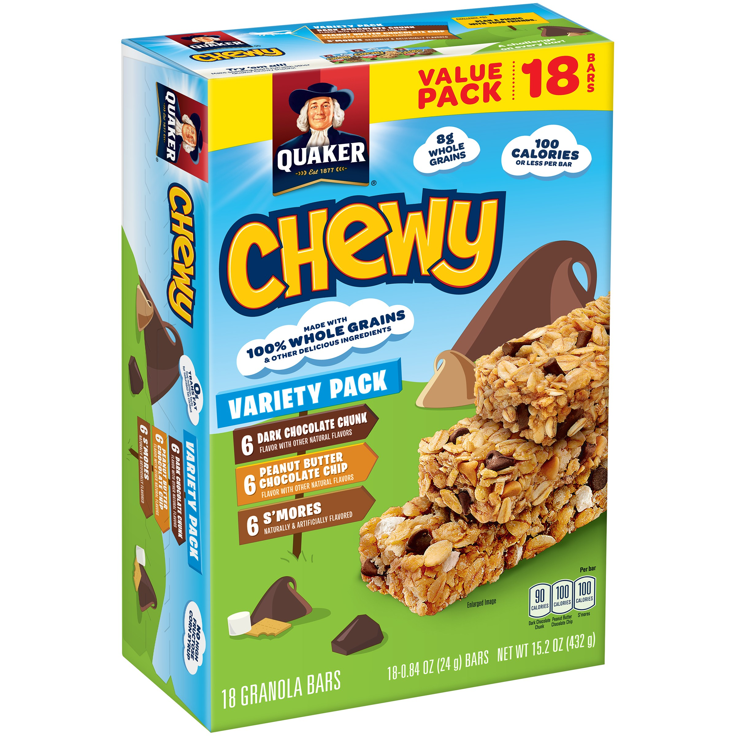 UPC 030000451304 - Quaker Chewy Granola Bars Variety Pack ... Quaker Chewy Granola Bars Barcode