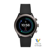 Fossil Sport Men's Smartwatch - Black Silicone 43mm - Powered with Wear OS by Google™