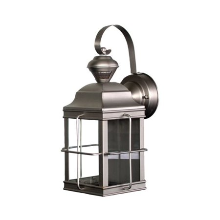 Heath zenith motion activated 1 light outdoor wall lantern walmart heath zenith motion activated 1 light outdoor wall lantern aloadofball