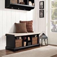 Crosley Furniture Brennan Entryway Storage Bench, Multiple Colors