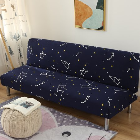 No Armrest Stretch Sofa Cover Slipcover