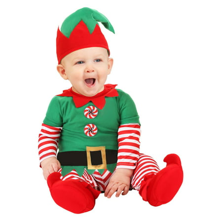 Christmas Carol Costumes (Christmas Elf Infant Costume)