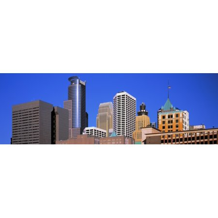 Skyscrapers in a city Minneapolis Minnesota USA Canvas Art - Panoramic Images (6 x 18)](Party City Minnesota)