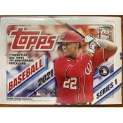 2021 Topps Series 1 Baseball Blaster Box