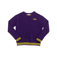 Louisiana State University Mesh Back Sweatshirt