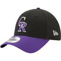 Product Image Colorado Rockies New Era Alternate The League 9FORTY Adjustable  Hat - Black Purple - OSFA 1e4d1fbd7132