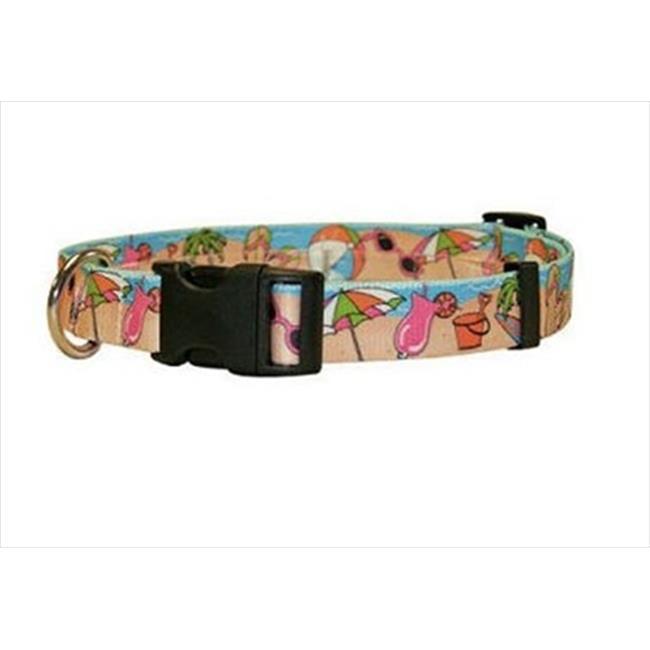 Yellow Dog Design BP100TC Beach Party Standard Collar - Teacup