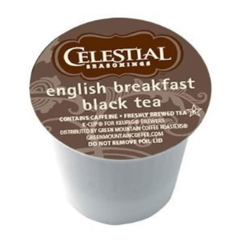 Celestial Seasonings English Breakfast Black Tea Keurig 1...