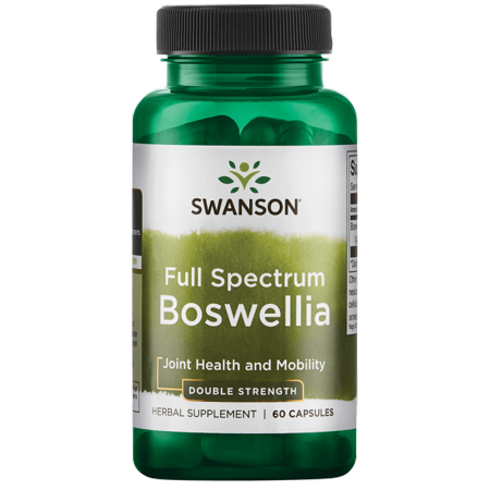625 Mg Caps - Swanson Full Spectrum Boswellia - Double Strength 800 mg 60 Caps