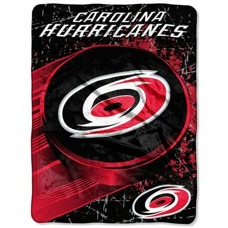 "Carolina Hurricanes 46"" x 60"" Ice Dash Micro Raschel Throw Blanket - No Size"