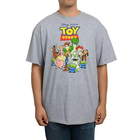 Men's Toy Story Movie Graphic T-Shirt Woody Buzz Bo Peep Jessie - Mens Toy Story Woody Shirt