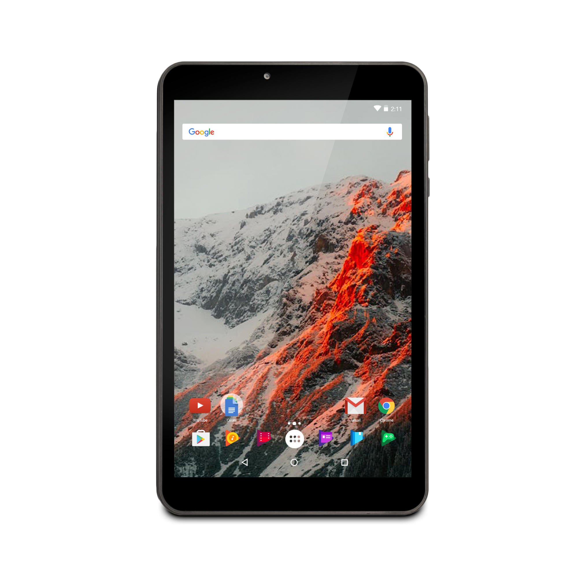 """Ematic 8"""" Quad-Core Tablet with Android 7.1, Nougat (EGQ182)"""