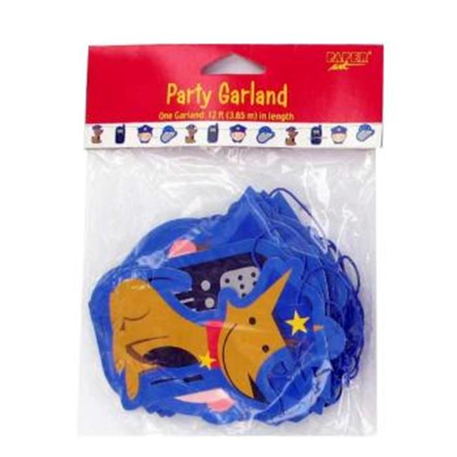 DDI Rescue Pals Police Party Garland Case Of 24