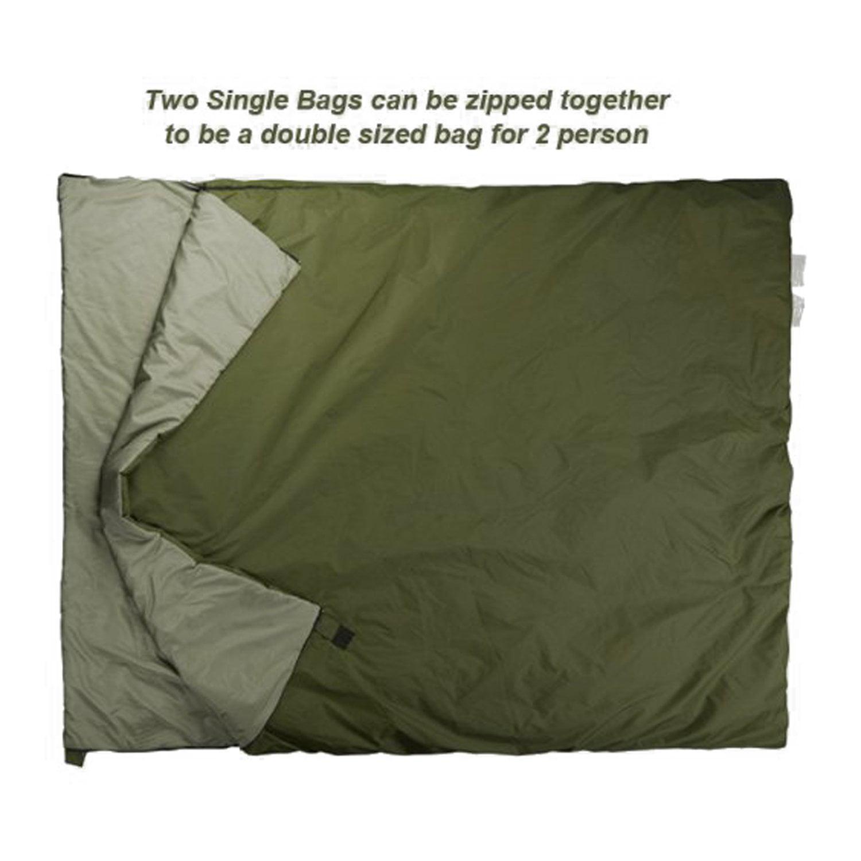 WEANAS Lightweight Compact Outdoor Camping Envelope Sleeping Bag Comfortable Durable Waterproof Summer School Hiking... by Weanas