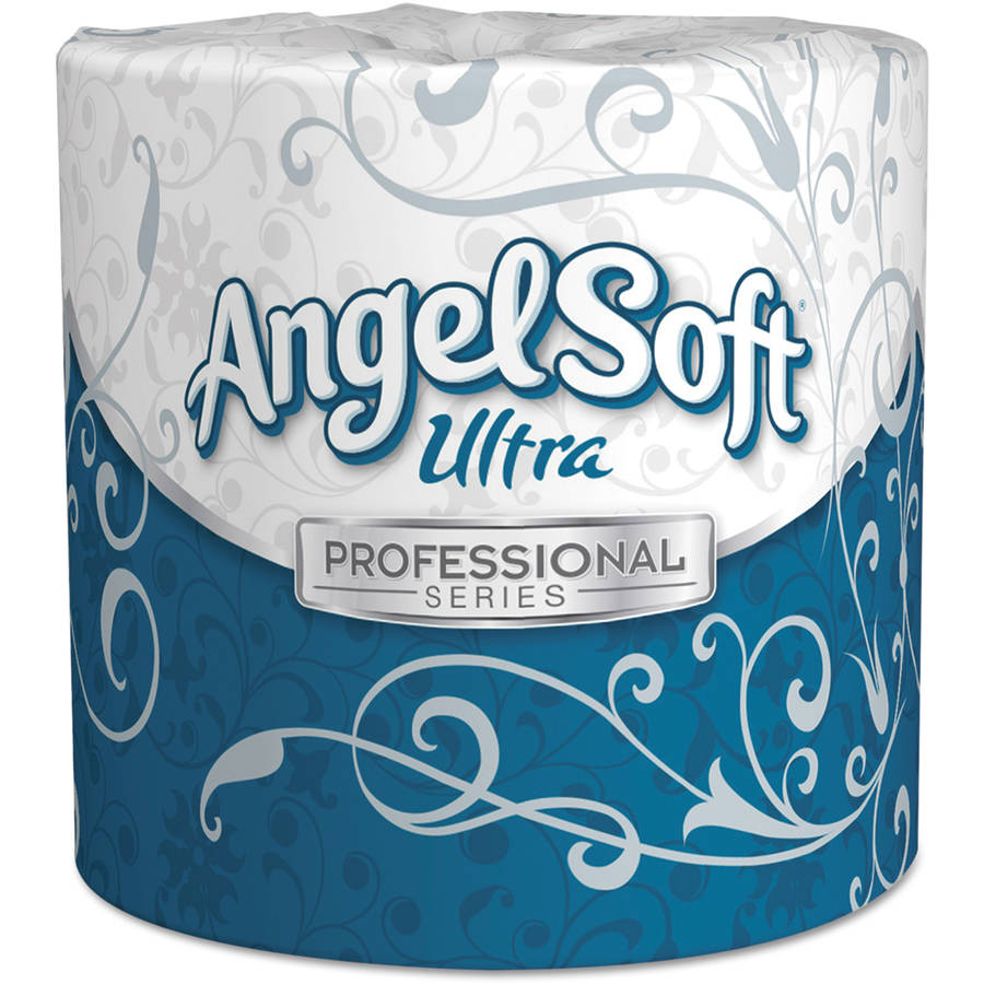 Georgia Pacific Angel Soft Ultra Two-Ply White Premium Bathroom Tissue, 60 ct
