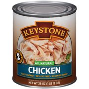 Keystone All Natural Chicken, 28 oz can