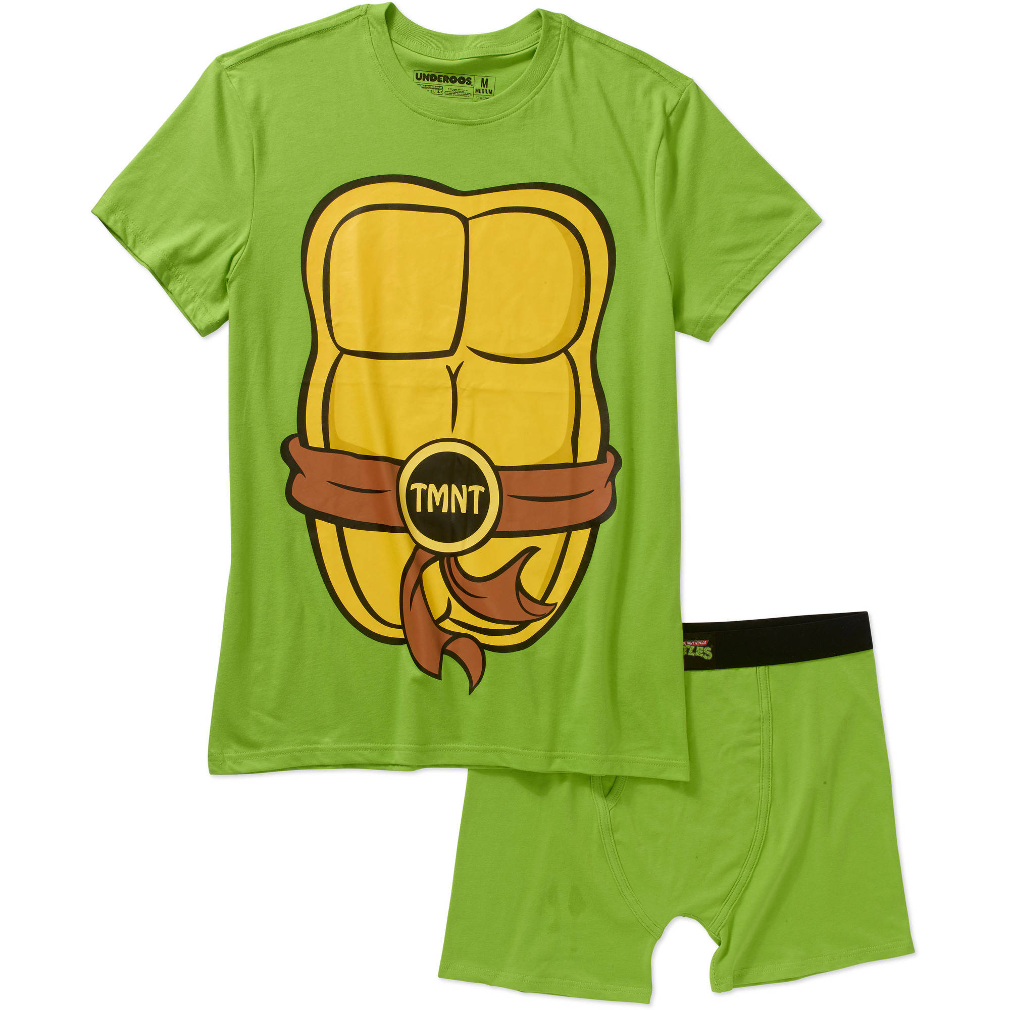 Teenage Mutant Ninja Turtles Men's Underoos Underwear Set