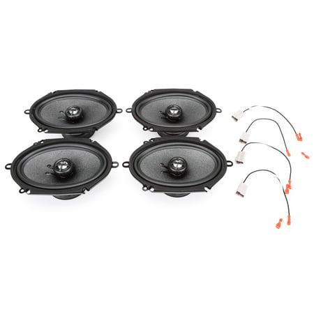 Skar Audio Complete RPX Series Speaker Upgrade Package - Fits 1992-2016 Ford Econoline Full Size