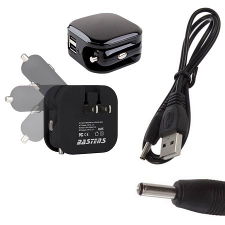 3in1 Dual Mini Wall Outlet Car Charger Double Usb Ports Sized Pocket For Travel 2 1 Amp 11w With Charge Cable Designed The Coby Kyros