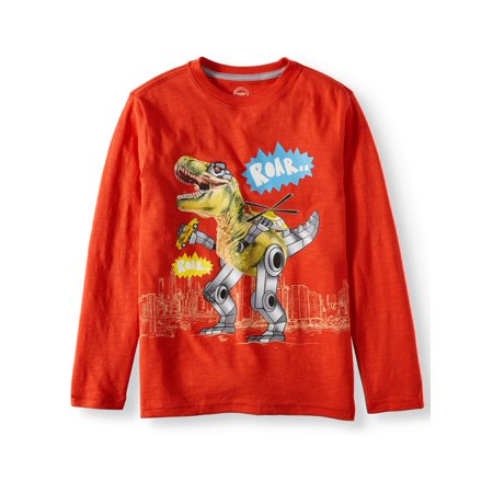 Long Sleeve Graphic Tee Shirt (Little Boy & Big - Boys Novelty Ties