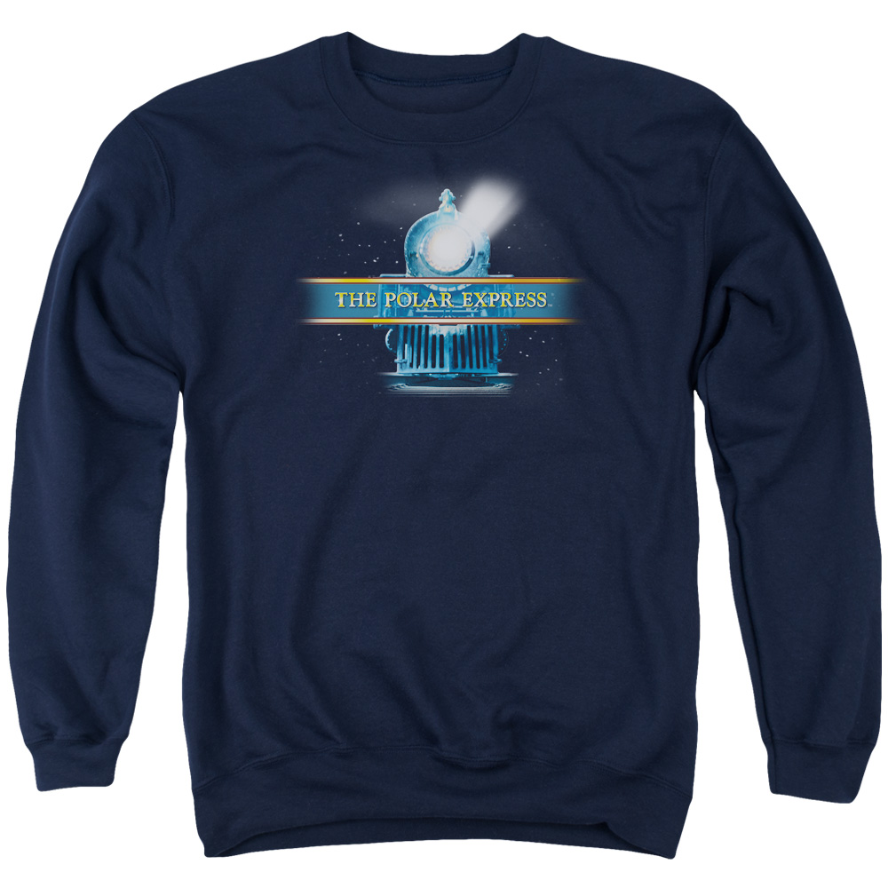 Polar Express Train Logo Mens Crewneck Sweatshirt