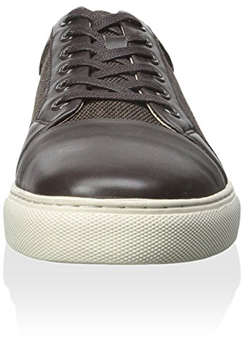 Zanzara Men's Beat Sneaker, Brown, 9.5 M US