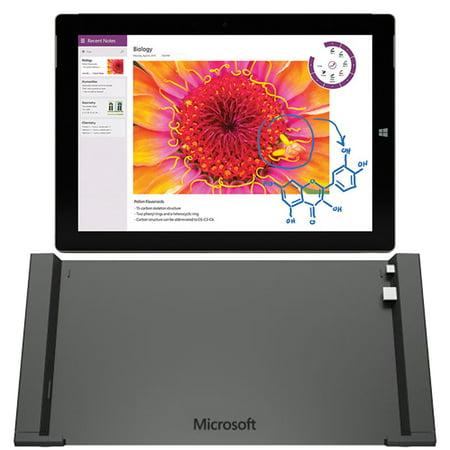 refurbished microsoft surface 3 tablet 10 8 inch 64 gb intel atom