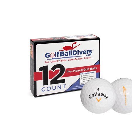 Callaway Warbird - Near Mint (AAAA) Grade - Recycled (Used) Golf Balls - 24 Pack