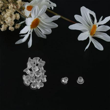20pcs 5mm Soft Clear Stem Bumpers, Patio Outdoor Furniture Glass Table Top - image 3 de 4
