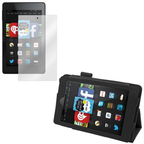 Kindle Fire HD 6 Screen Protector & Folio