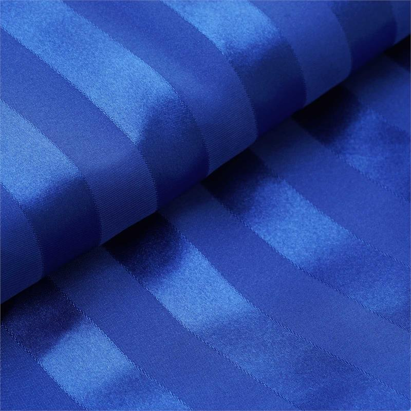 "BalsaCircle 54"" x 10 yards Two-tone Satin Stripes Fabric Bolt Put-up - Sewing Crafts Draping Decorations Supplies"