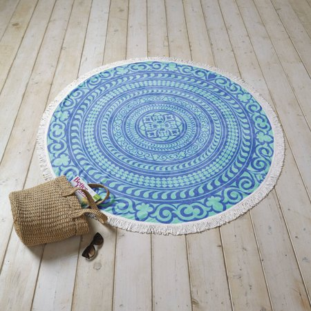 Better Homes and Gardens Mandala Round Beach Towel - Walmart.com