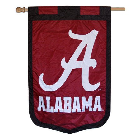 "Alabama Crimson Tide 35"" x 52"" NCAA House Flag"