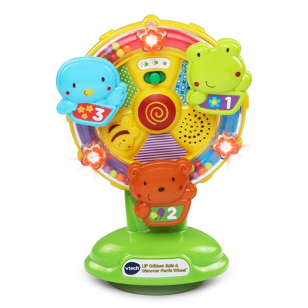 VTech Lil' Critters Spin and Discover Ferris (Fisher Price Music Box Ferris Wheel 1966)
