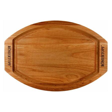 Romertopf Wooden Cutting Board and Trivet