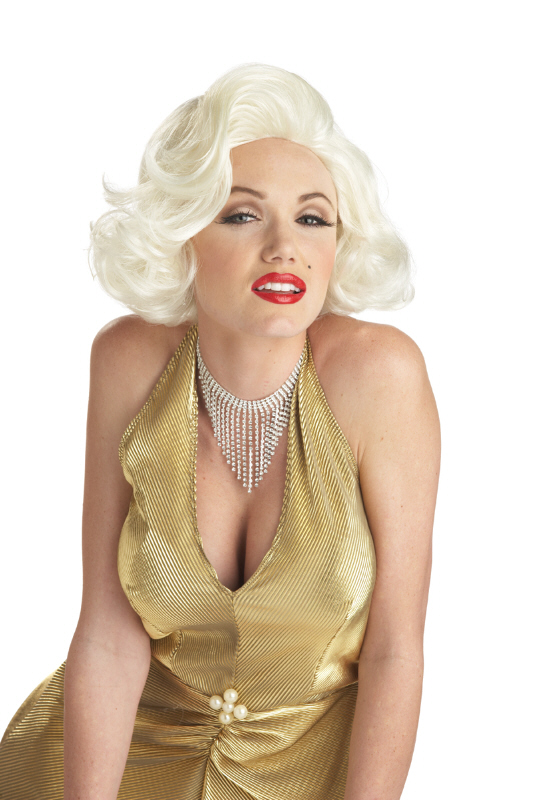 California Costumes Womens Classic Marilyn Monroe Platinum Blonde Wig