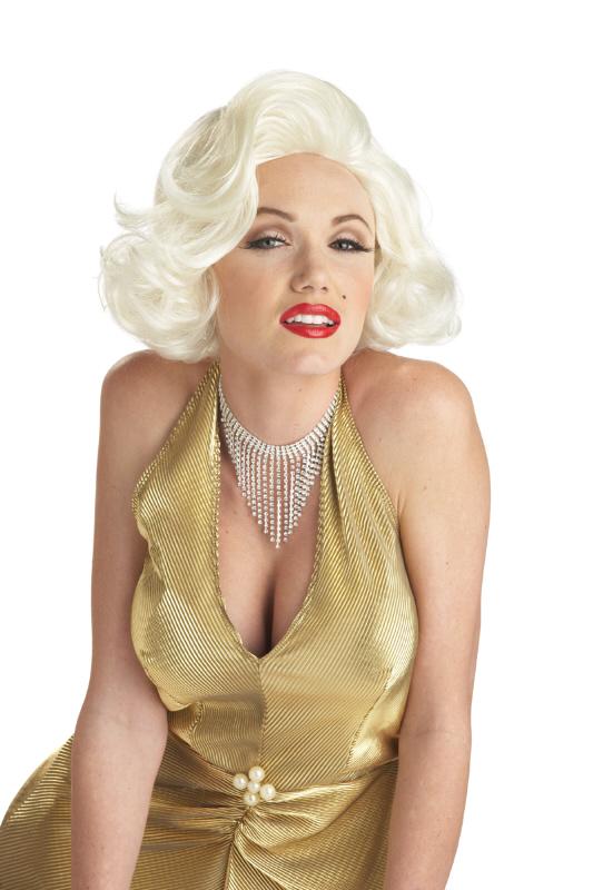 California Costumes Women s Classic Marilyn Monroe Platinum ... 1da7ce5e70