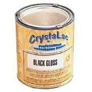 Crystalac Exterior Paint, Black C.5903