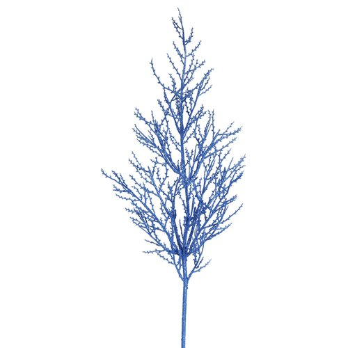 The Holiday Aisle 6 Piece Onoclea Glitter Wild Huck Branch (Set of 6)
