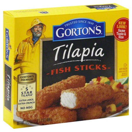 gortons premium tilapia fish sticks