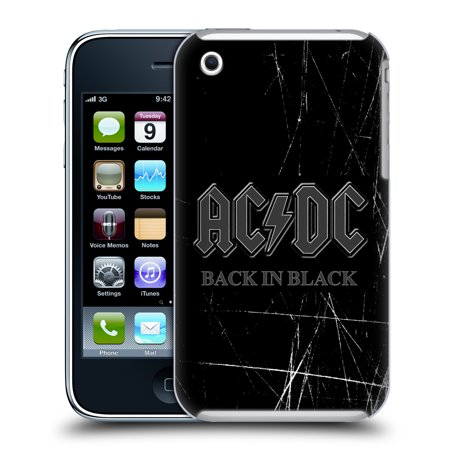 Iphone 3g Holster - OFFICIAL AC/DC ACDC LOGO HARD BACK CASE FOR APPLE IPHONE PHONES