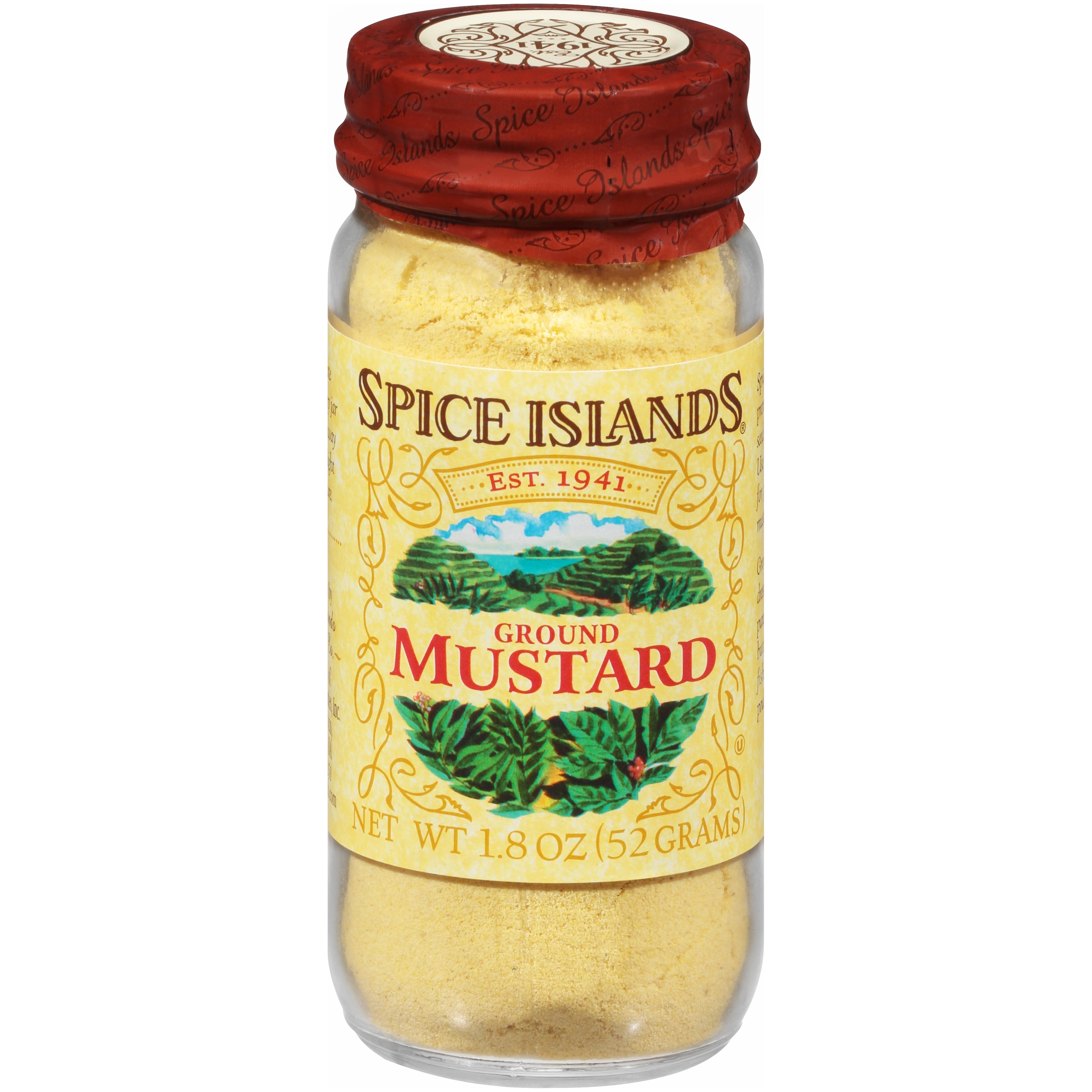 (2 Pack) Spice Islands® Ground Mustard 1.8 oz. Jar
