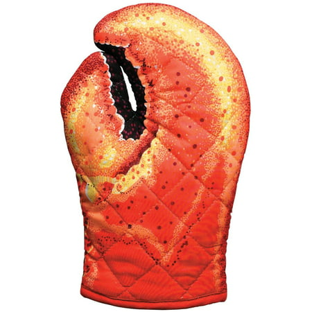 Kitten Oven Mitt, Quilted Cotton, Designed for Light Duty Use, by, The Lobster Claw oven mitt is a fun and functional conversation starter; hang it in your kitchen or.., By Boston Warehouse
