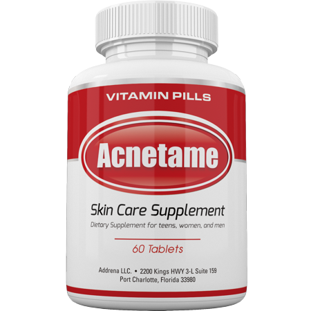 acnetame vitamin supplements for acne treatment 60 natural pills. Black Bedroom Furniture Sets. Home Design Ideas