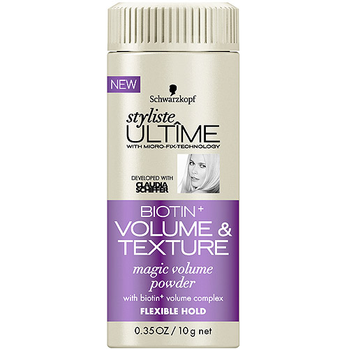 Schwarzkopf Styliste Ultime Biotin+ Volume & Texture Magic Volume Powder, 0.35 oz