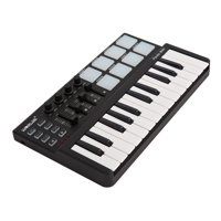 ammoon Worlde Panda mini Portable Mini 25-Key USB Keyboard and Drum Pad MIDI Controller for teen adults