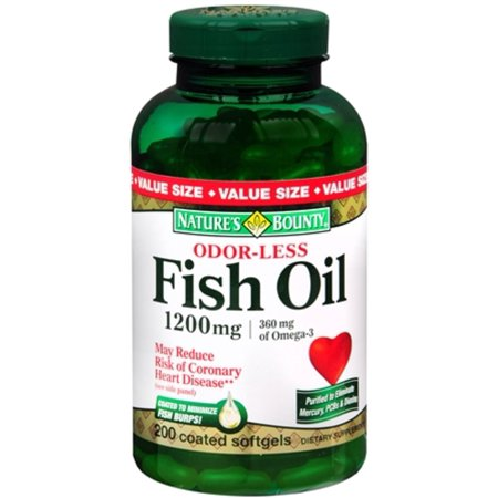 Nature S Bounty Fish Oil  Mg Omega